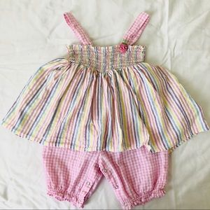 Puppy and Julie dress 2T